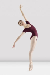Bloch Adult Cotton Short Sleeve Leotard