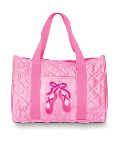 DansBagz Quilted on Pointe Pink Tote