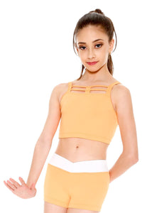 SoDanca Child Webbed Tank Crop Top