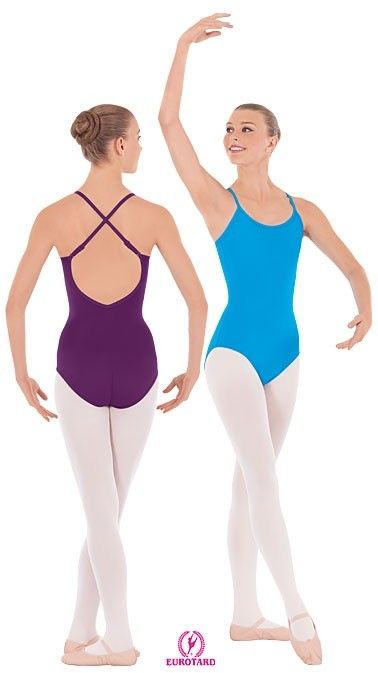 Eurotard Adult Adjustable Strap Camisole Leotard