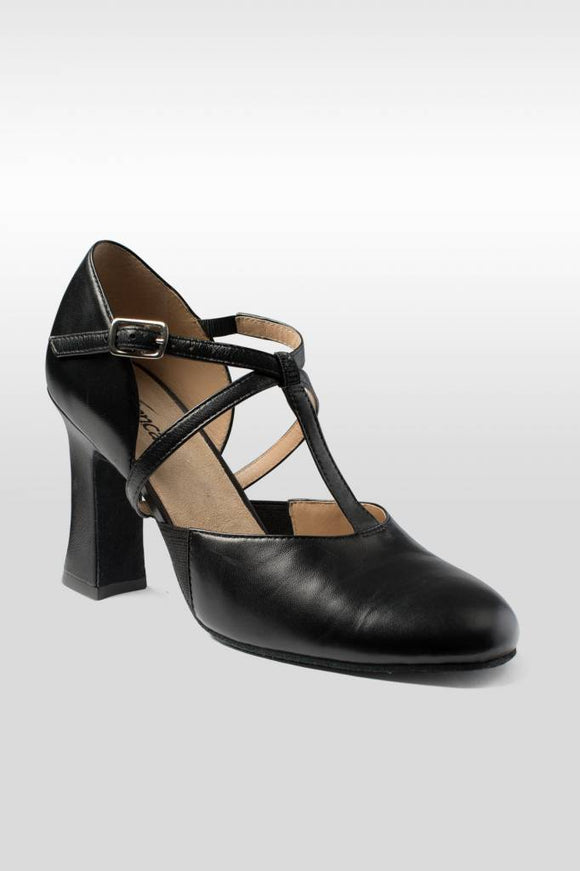 "SoDanca Roxy 3"" Pro T-Strap Broadway Shoe"