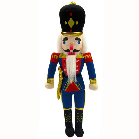 Plush Nutcracker Soldier