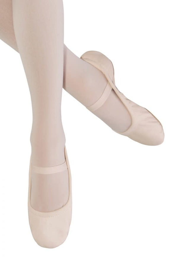 Bloch Girls Giselle Leather Ballet Shoes