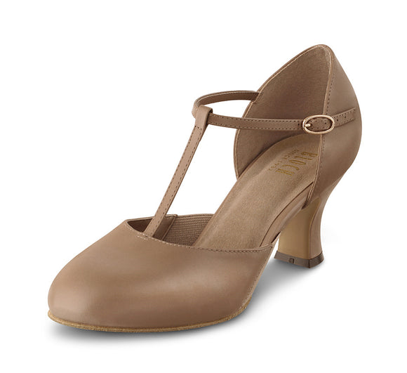 Bloch Split Flex T-Strap Heel Shoe