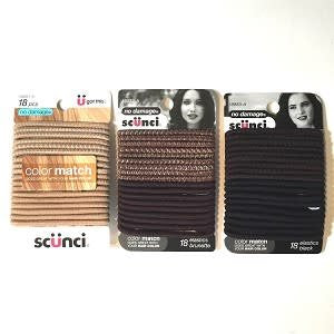 CONAIR Color Match Ponytail Holders (18pc.)