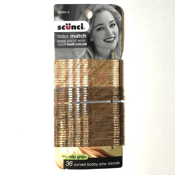 Scunci 36pc Blonde Bobbi Pins 3