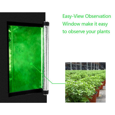 60 X 60 X 120cm Home Use Hydroponic Plant Growing Tent