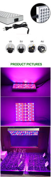 2pcs Full Spectrum LED Grow Light