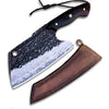 damascus serbian knife VG10 steel