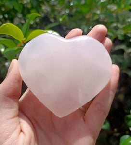 Stunning Rose Quartz Heart