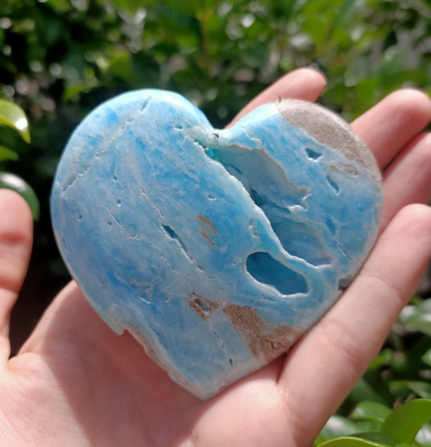 Aragonite Calcite Heart