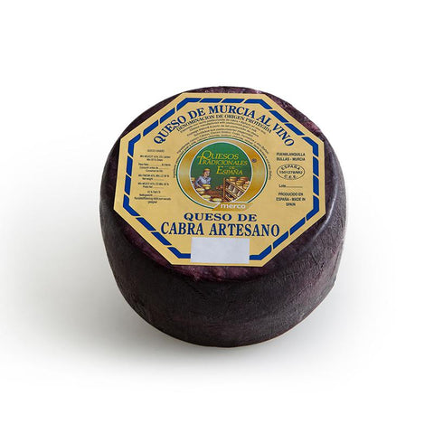 Cheese al Vino, Wine Cheese (Murcia), 220Gr - The Gourmet Market