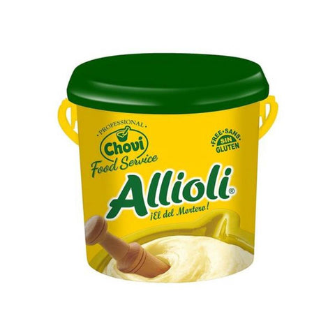 Sauce Alioli Garlic, 2Kg - The Gourmet Market