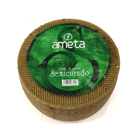 Cheese Mezcla Semimatured (La Mancha), 3Kg - The Gourmet Market