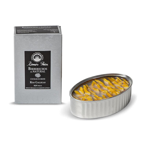 Cockles 30-35ea/Can, (Silver Line) +/- 120Gr - The Gourmet Market