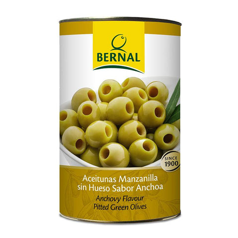 Olives Manzanilla Pitted, 2.5Kg Drained - The Gourmet Market