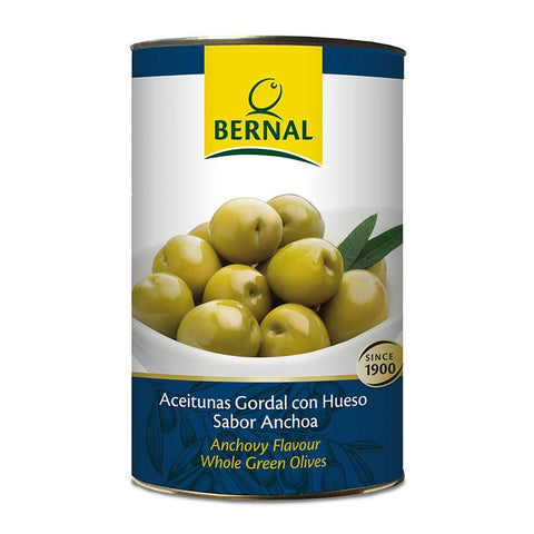 Olives Gordal Whole, 2.5Kg Drained - The Gourmet Market