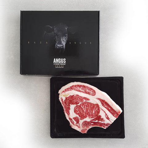 Ribeye Bone-in, Black Angus (300 days grain feed) , +/- 950gr.