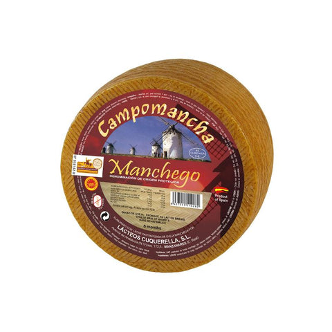 Cheese Manchego DOP Semi-Matured (La Mancha), 250Gr - The Gourmet Market