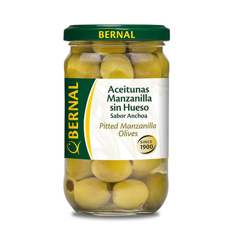Olives Manzanilla Pitted, 150Gr Drained - The Gourmet Market