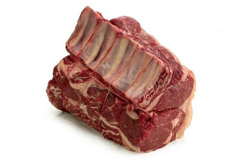 Ribeye Bone-in Scottish Black Angus (28 days dry-aged) , +/- 5kg.