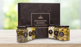 Olives & Pickles Gourmet Mixed Flavours Gift Box, 6x225Gr Drained