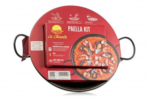 "Paella for 2 Kit ""La Chinata"", with 30cm Paella Pan. - The Gourmet Market"