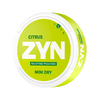 ZYN Citrus Mini Dry 3 mg