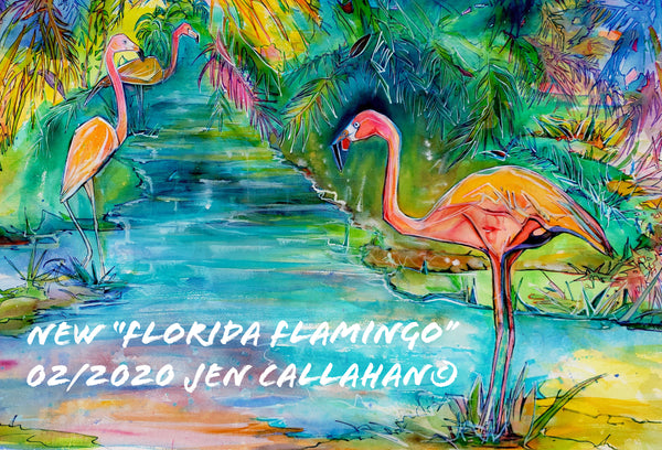 """Florida Flamingo"""