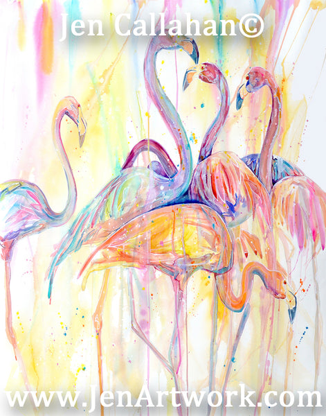 """Flamingo Dance"""