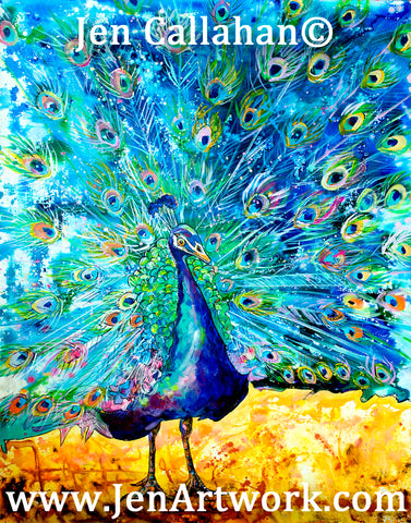 """Peacock Blues"""