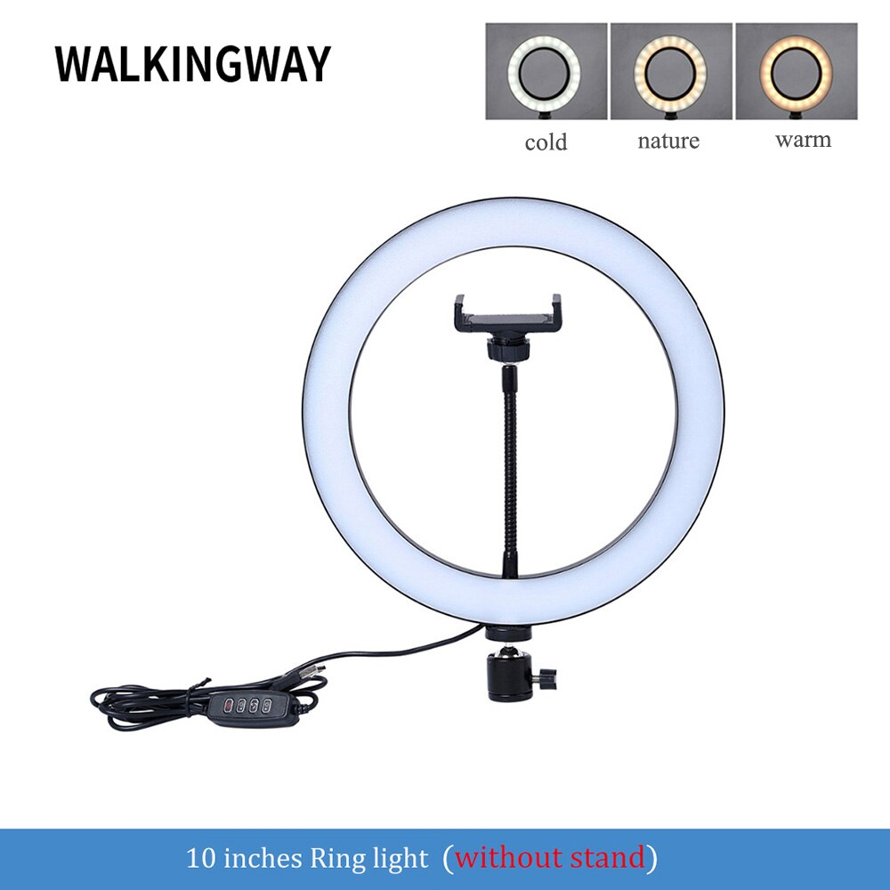 Ring Light with Stand Phone