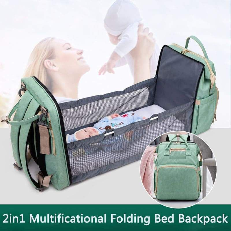 Multificational Folding Bed Backpack