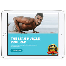 Load image into Gallery viewer, THE LEAN MUSCLE PROGRAM