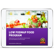 Load image into Gallery viewer, LOW FODMAP FOOD PROGRAM