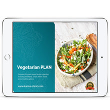 Load image into Gallery viewer, Vegetarian DIET PLAN