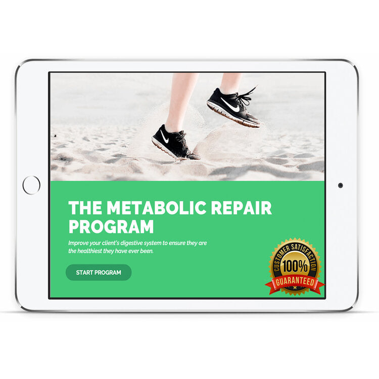 THE METABOLIC REPAIR PROGRAM