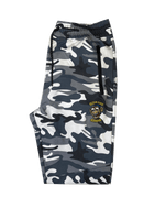 CAMO JOGGERS WITH ZIPPERS