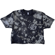 Load image into Gallery viewer, TIE DYE Weightlifting Crop Silver - Rose/Find your FIRE