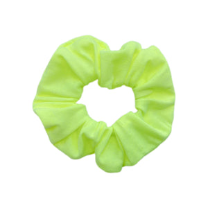Neon yellow Scrunchie