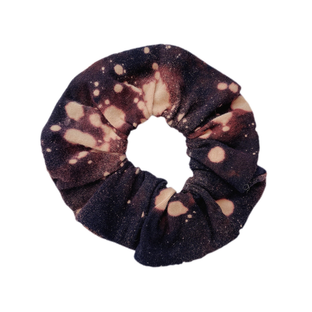 Black and gold splash Scrunchie