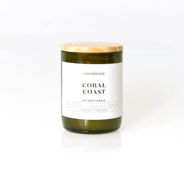 Coral Coast 9oz Soy Wax Candle