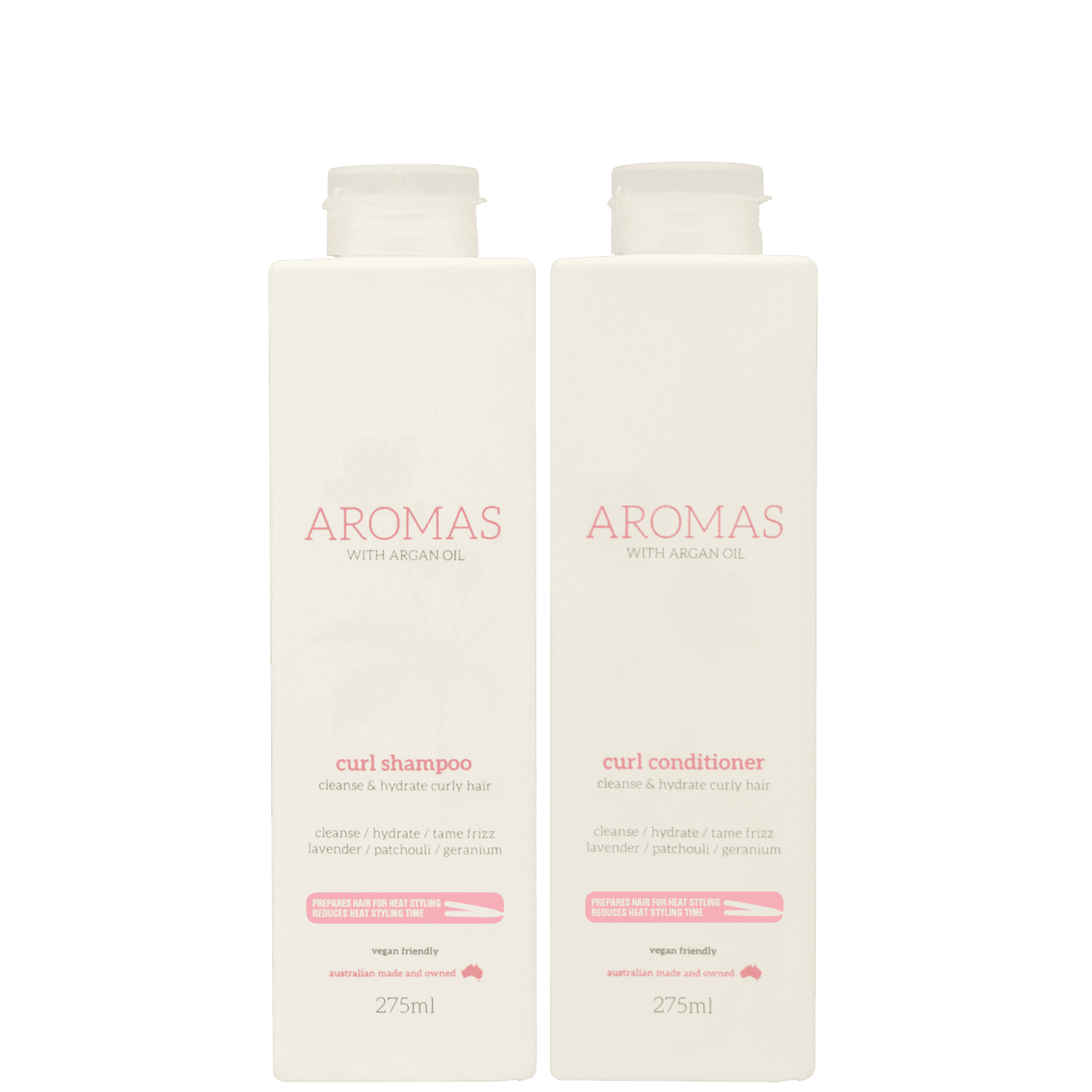 Aromas Curl Shampoo & Conditioner with Argan Oil