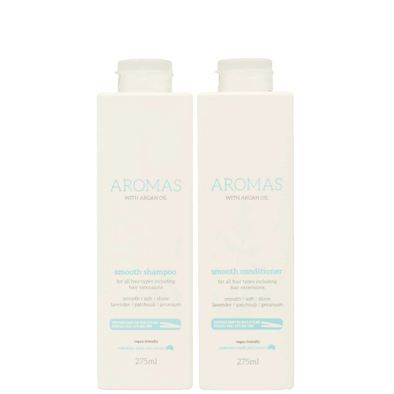 Aromas Smooth Shampoo & Conditioner with Argan Oil