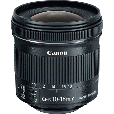 Canon EF-S 10-18mm F4,5-5,6 IS USM