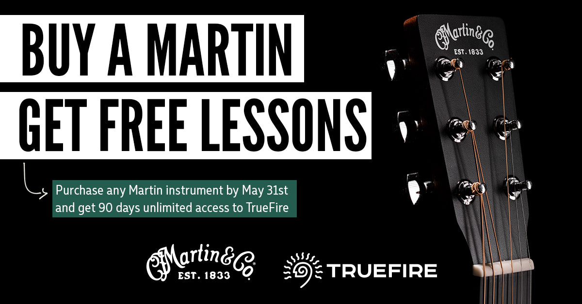 Martin Partners with TrueFire!