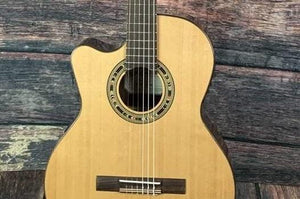 6 Left Handed Classical and Contemporary Nylon String Acoustic Guitars In-Stock at Adirondack Guitar