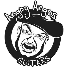 Angry Angus guitar, bass and equipment