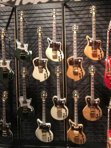 D'Angelico Guitars 2018 NAMM Booth