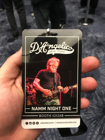 D'Angelico Guitars Bob Weir Event